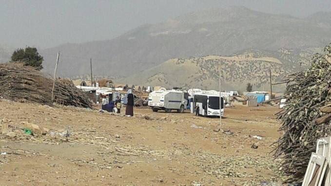 VİDEO | Şırnak'ta ailelerin kaldığı çadırlar polislerce söküldü