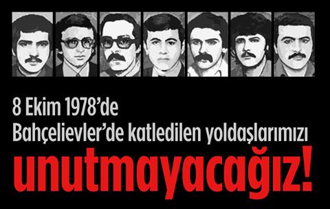 Komünistlerden Bahçelievler katliamı açıklaması