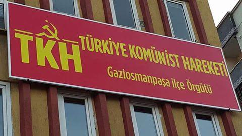 Komünistler Gaziosmanpaşa'da