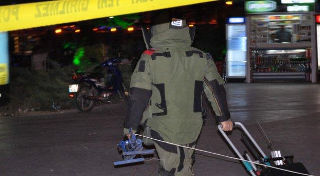 CHP Genel Merkezi yakınındaki şüpheli paket patlatıldı