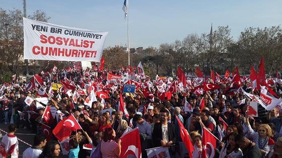 Komünistlerden 29 Ekim açıklaması: Yeni bir Cumhuriyet ancak emekçilerin eseri olabilir!