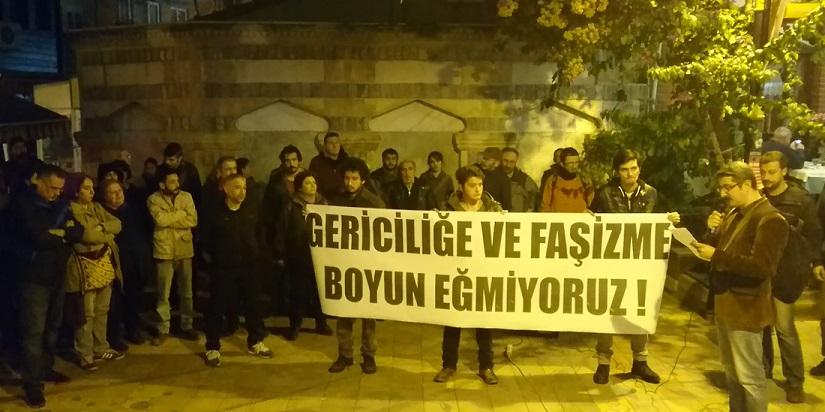 Maltepe'deki faşist saldırıya karşı basın açıklaması: Laikliğe saldırı AKP'nin OHAL düzeninin eseri