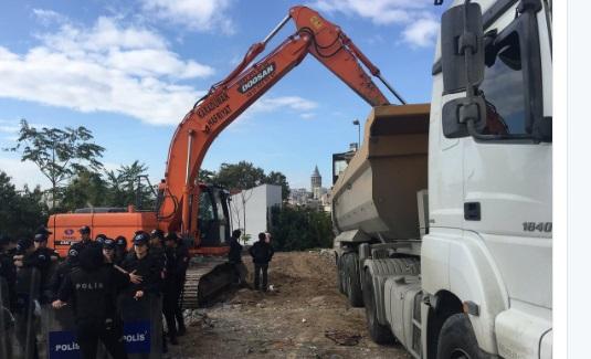 İBB Cihangir'deki Roma Parkı'nı ranta açıyor