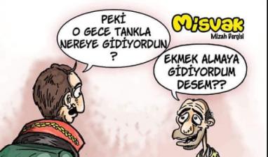 Sözde mizah dergisi gerici Misvak'tan alçak karikatür