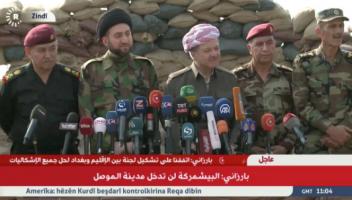 Barzani'den ilginç açıklama: ABD için değil kendimiz için savaşıyoruz. Yardımlarını memnuniyetle karşılıyoruz