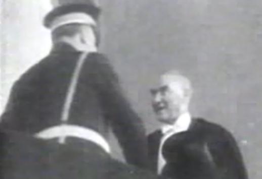 VİDEO | Mustafa Kemal'in ölmeden önce katıldığı son 29 Ekim töreni görüntüleri