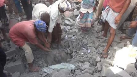 Suudi Arabistan Yemen'de katliam yaptı: En az 45 ölü