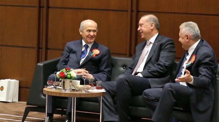 Erdoğan'dan Bahçeli'ye: Doğrudan ikimiz konuşalım, beni arayın