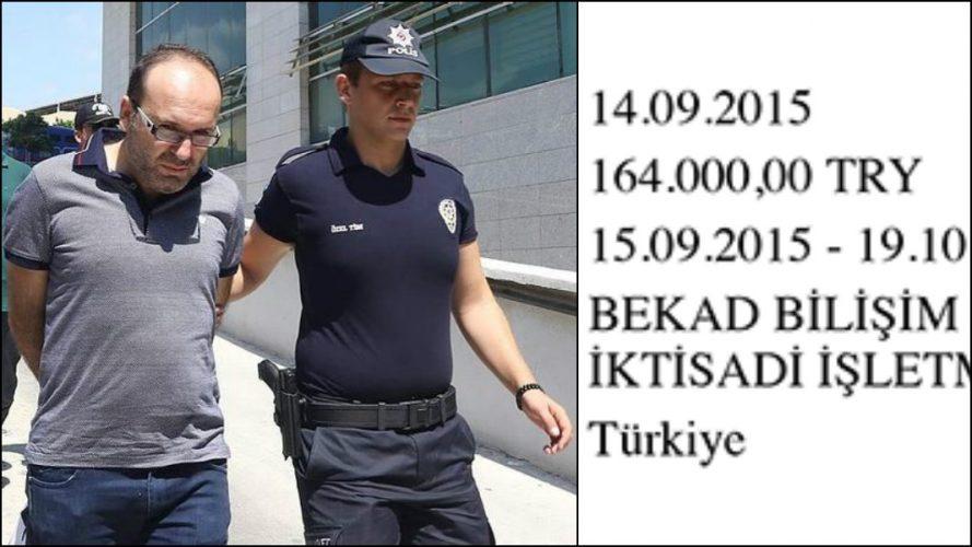 Bakırköy Belediyesi 'FETÖ'den tutuklanan Karaarslan'a on binlerce lira danışmanlık parası vermiş