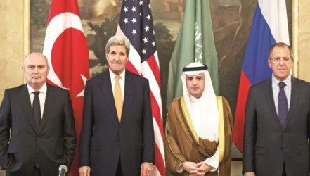 Lavrov: Türkiye, ABD, Rusya ve Suudi Arabistan Suriye'yi görüşecek