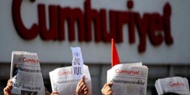 Cumhuriyet Gazetesi operasyonunda 9 tutuklama!