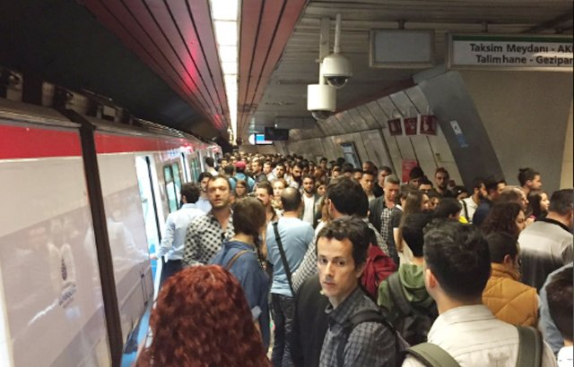 İstanbul metrosunda seferler normale döndü