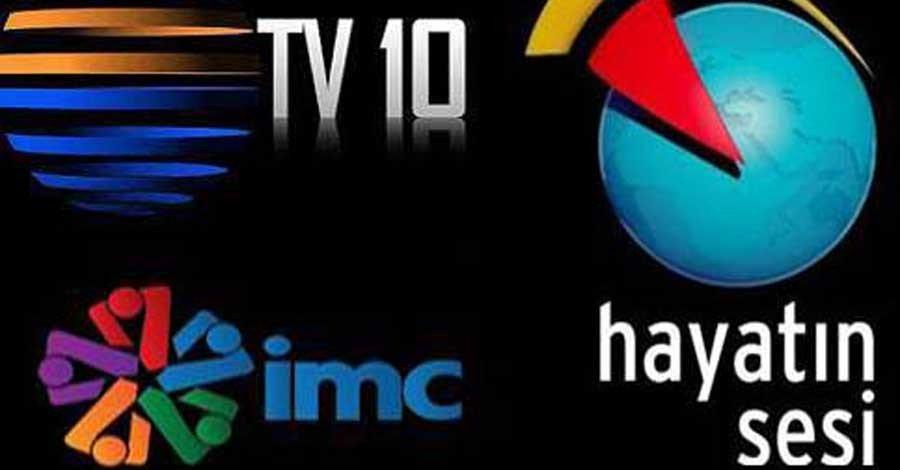 İMC, Hayatın Sesi ve TV10'un malları TRT'nin oldu
