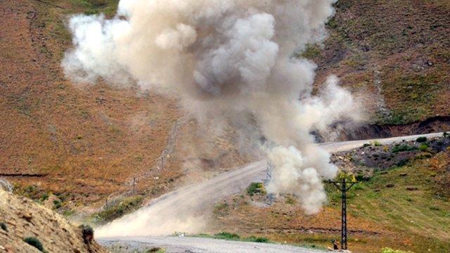 Beytüşşebap'ta mayın patlaması: 1 asker yaşamını yitirdi