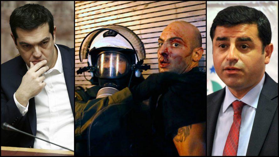 'Radikal demokrasi kardeşliği': Demirtaş, Yunan işçilerine saldıran Syriza'nın kongresinde