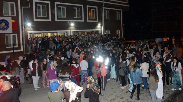 KYK Zonguldak Nesibe Hatun yurdundan silah zoruyla öğrenci kaçırıldı!
