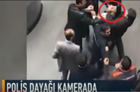 VİDEO HABER | Polis mi çete mi: Kimlik soran AVM güvenliğini feci şekilde dövdüler
