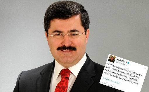 Cezaevleri alarmdayken, AKP'li vekilden'toptan temizlik' iması