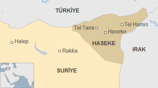 Rojava'nın Haseke kentinde patlama!