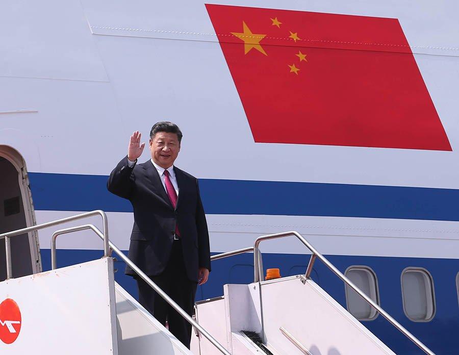 Çin Cumhurbaşkanı Latin Amerika turuna çıktı