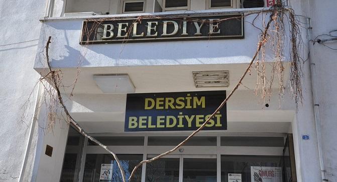 Bir operasyon da Dersim Belediyesi'ne: Belediye eş başkanları gözaltında