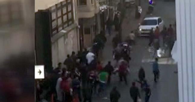 VİDEO | Kumkapı Göçmen Dairesi'nden büyük kaçış!