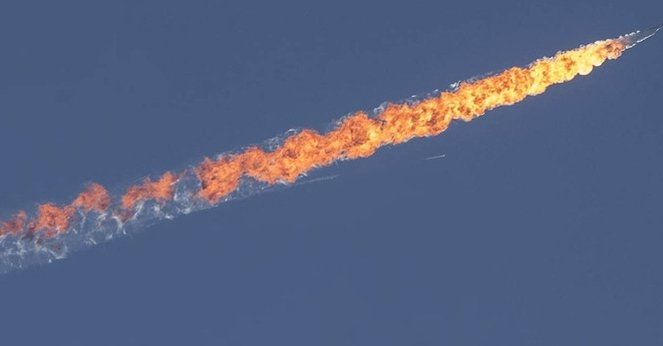 Akdeniz'de bir Rus uçağı düştü!
