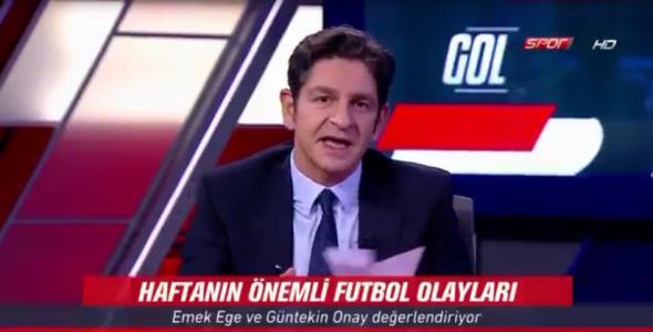 VİDEO   Spor spikeri Güntekin Onay'dan yandaş Sabah'a ağır eleştiri...