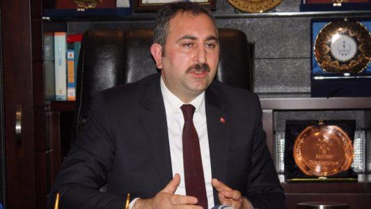 Adalet Bakanı'ndan'vize krizi' açıklaması