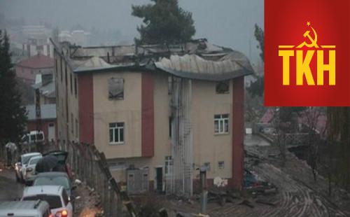 Komünistlerden yurt yangını açıklaması: Ne emekçileri bu yobazlara bırakacağız, ne de ülkemizi…