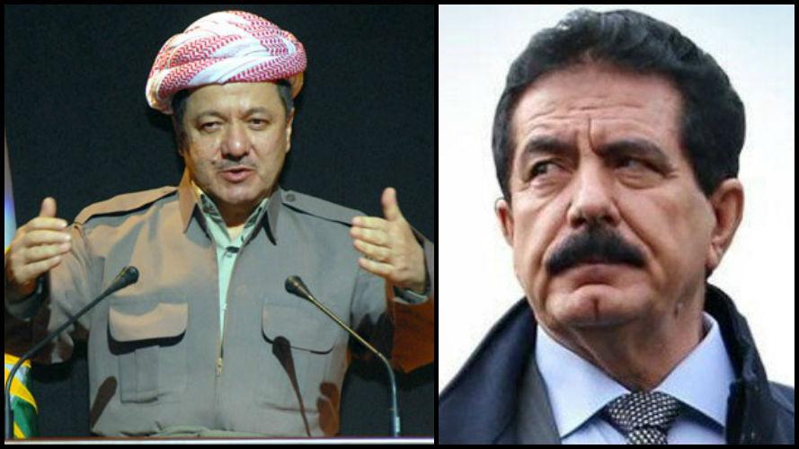 Barzani'ye KYB'den destek