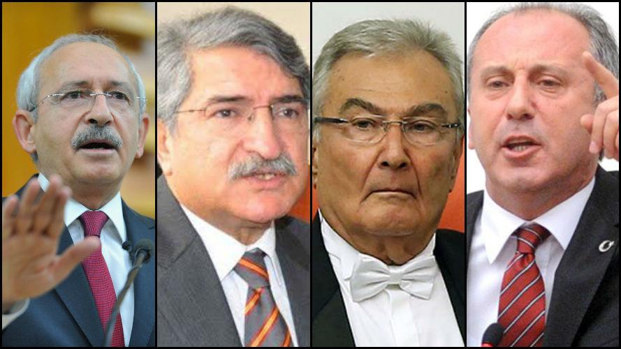 CHP'de Kılıçdaroğlu'na karşı üçlü ittifak iddiası