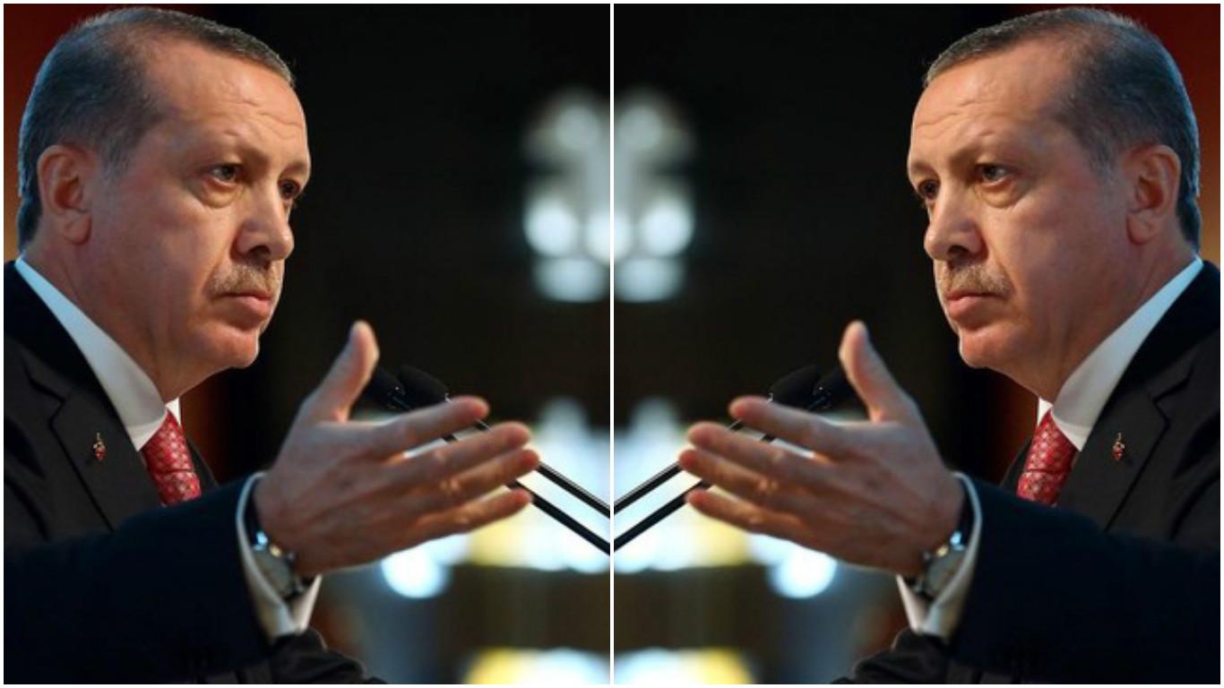 Erdoğan tek konuşmada kendisini iki kere yalanladı: Hayırcılar terörist mi değil mi?