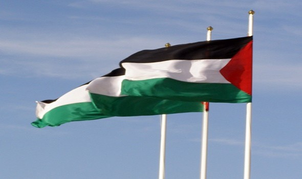 Filistin'de bayraklar Fidel için yarıya indi
