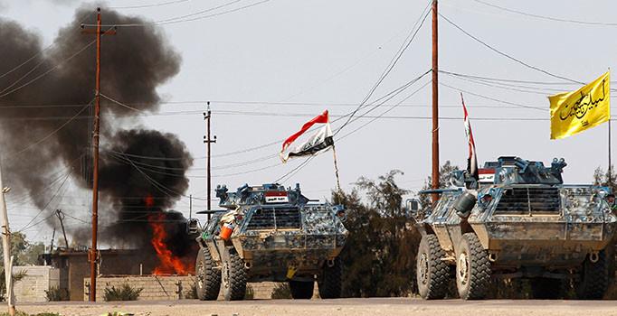 Musul'da önemli gelişme: Haşdi Şabi milisleri IŞİD'in Suriye'yle bağlantısını kesiyor