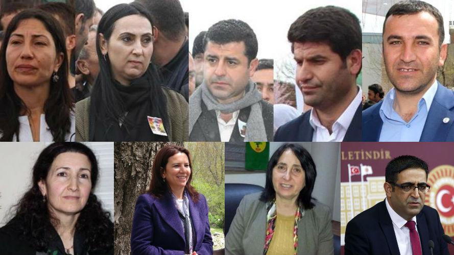 HDP operasyonunda tutuklanan milletvekilleri kimler?