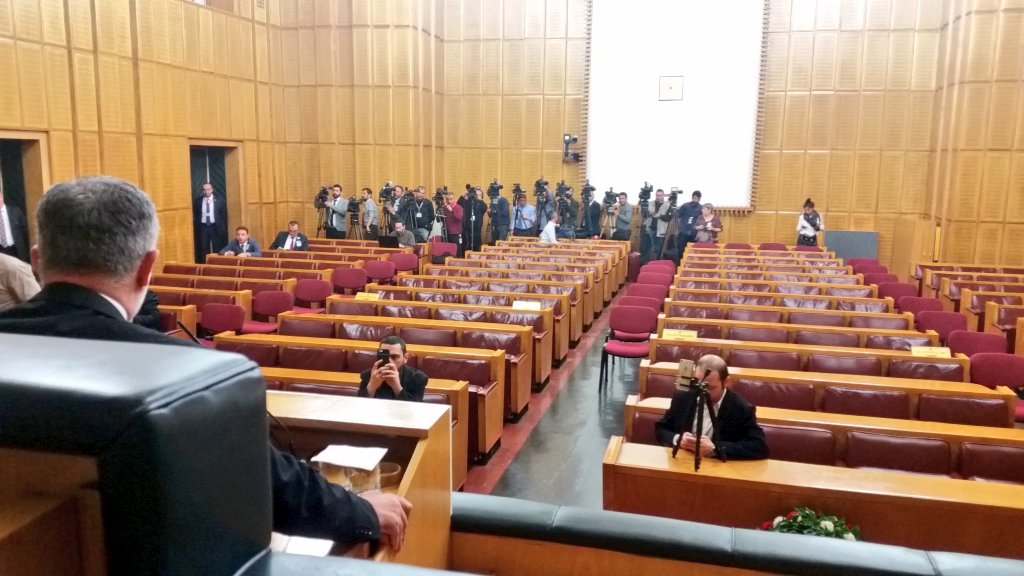HDP'ye Meclis'te izleyici yasağı