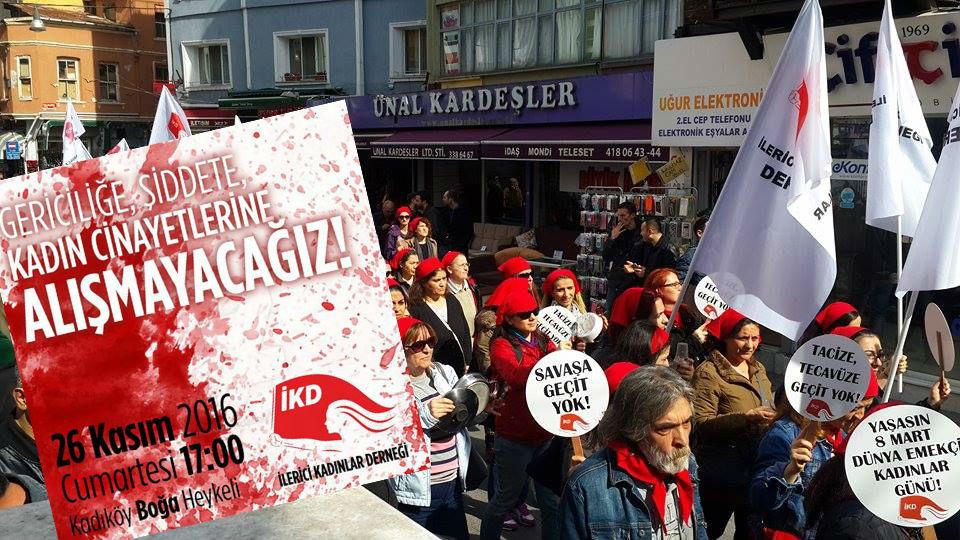 İKD'den 25 Kasım açıklaması ve eylem çağrısı: Alışmayacağız!