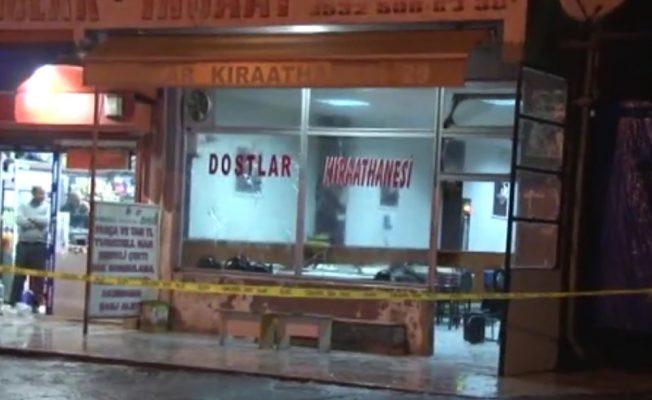 İstanbul'da bir kahvehaneye silahlı saldırı