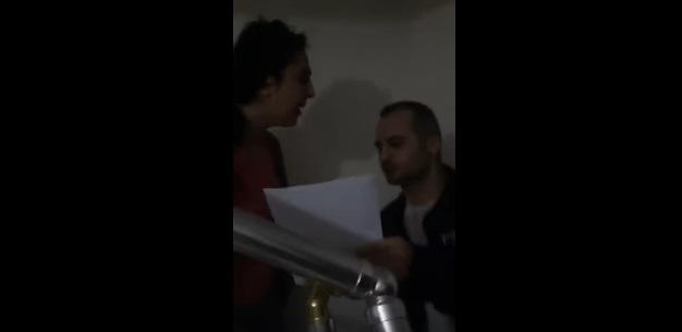 VİDEO | Polis, Figen Yüksekdağ'ın evinin kapısını kırarak içeri girdi!