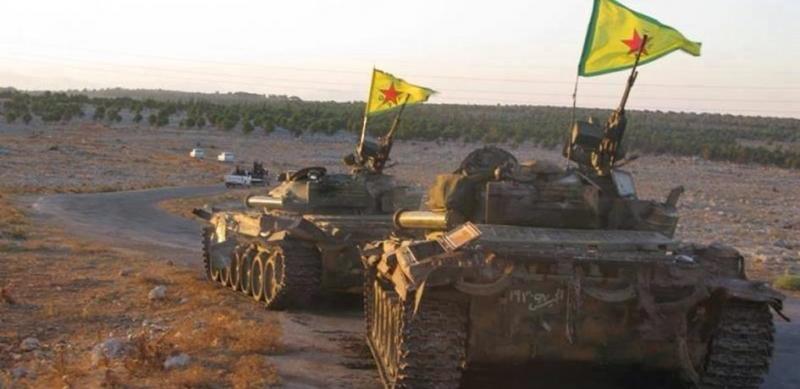 YPG Menbiç'ten tamamen çekildiğini duyurdu
