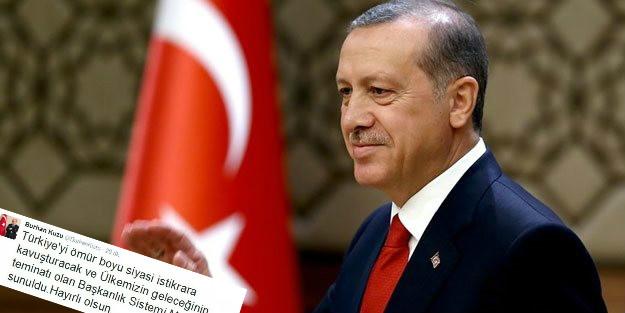 Burhan Kuzu o ifadeyi boşuna yazmamış: Erdoğan 'ömür boyu' başkan olabilir