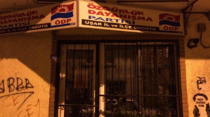 ÖDP İl binasına pompalı tüfekle saldırı