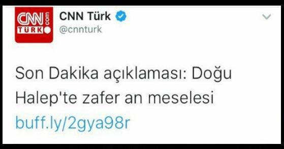Bu tweet artık CNN Türk'te yok