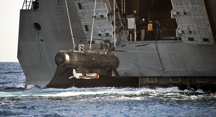Çin ABD denizaltısına el koydu!