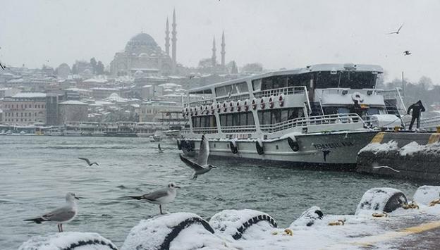 İstanbul çarşamba günü beyaza bürünecek
