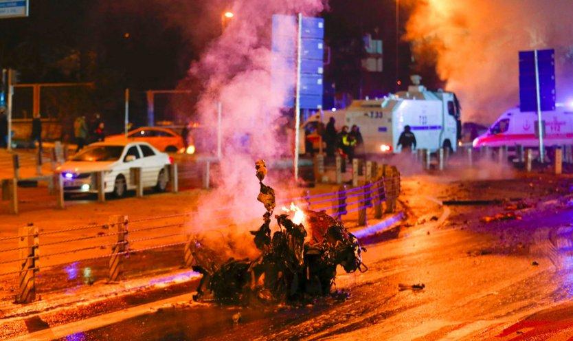 Görgü tanıkları, İstanbul'daki patlamayı anlattı