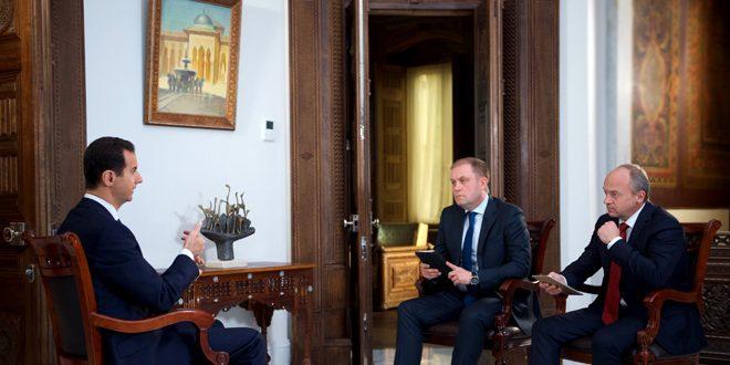 """Suriye Devlet Başkanı Beşar Esad: """"Palmira'yı yeniden özgürleştireceğiz."""""""