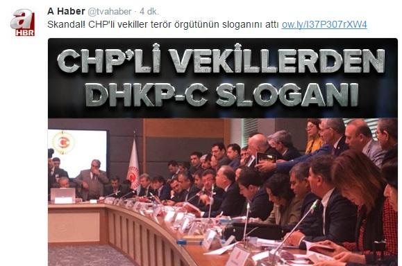 AKP'nin yayın organından 'slogan' provokasyonu!