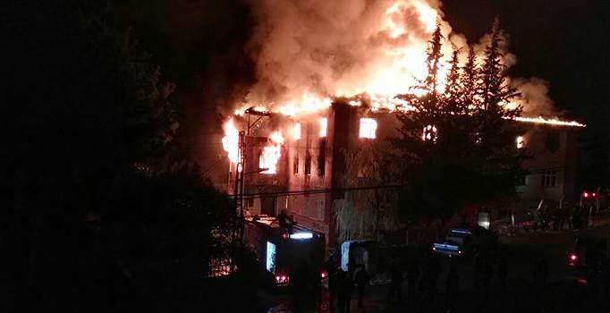Tarikat yurdu yangınında cezalar açıklandı